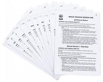 PADI Cue Cards - Rescue Diver, Instructor (Korean)