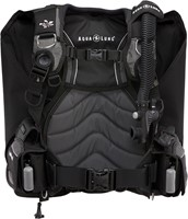 Aqualung Lotus Black/Charcoal ML trimvest-1