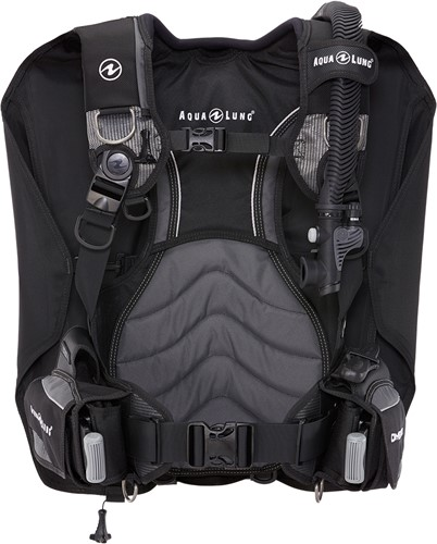 Aqualung Dimension Black/Charcoal XL trimvest