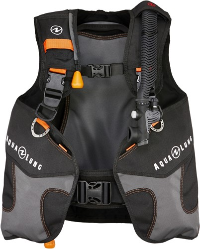Aqualung Wave Black/Orange Junior XXXS trimvest