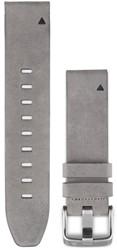 Garmin fenix 5s 20mm QuickFit Gray Suede leren polsband