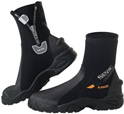 Seac Pro Hd Boots With Zip 6mm