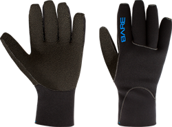 Bare 3MM K-Palm Gloves