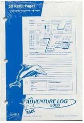 PADI Adventure Log - Refill Pages