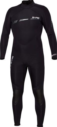 Bare 3/2mm duikpak Sport S-Flex Full Black Men XXL