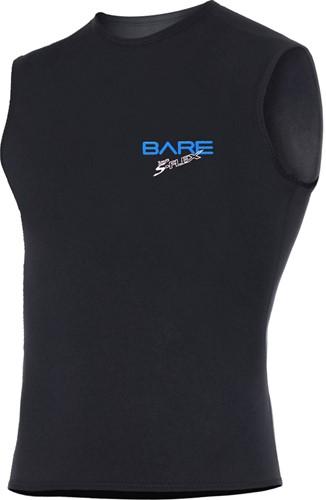 Bare 3mm S-Flex Vest Black Men maat M