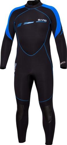 Bare 5mm duikpak Sport S-Flex Full Blue Men M