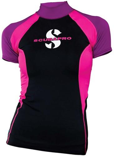 Scubapro Rashguard Jewel T-Flex Vrouw UPF80 Short Sleeve