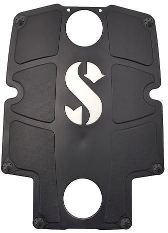 Scubapro S-Tek Back Pad Color Kit/Blk