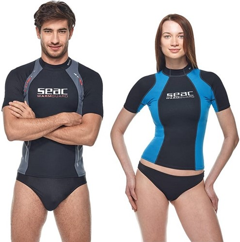 Seac Rash Guard Warm Guard Short Man  M