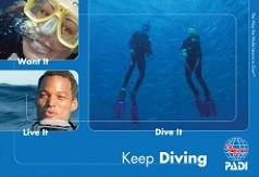 PADI Brochure - Keep Diving