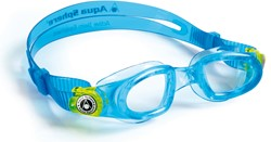 Aquasphere zwembril Moby Kid blue/clear lens