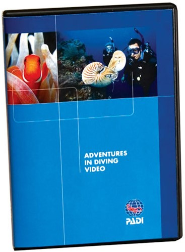 PADI DVD - Adventures in Diving, Diver Edition Engels/Frans/Spaans