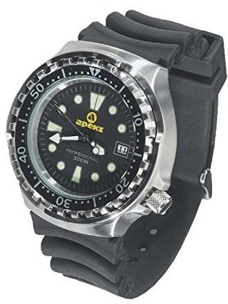 Apeks 500M Divers Rubber duikhorloge