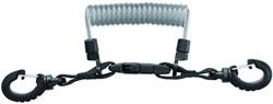 Mares Lanyard Stainless Steel Spiral W/Ring