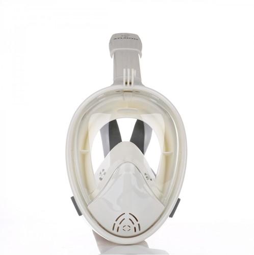 Atlantis 2.0 Full Face Snorkelmasker S/M Wit