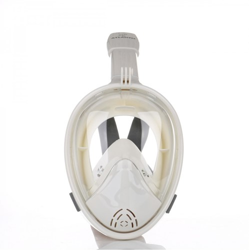 Atlantis 2.0 Full Face Snorkelmasker L/XL Wit