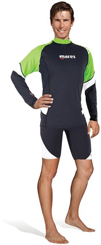 Mares Rash Guard Loose Fit L/S Man Lm S