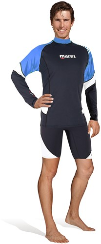 Mares Rash Guard Loose Fit L/S Man Bl Xxl