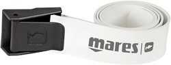 Mares Belt Elastic W/Nylon Buckle Wh