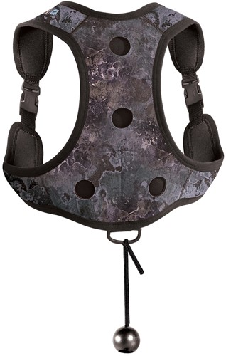 Mares Back Pack Camo Black (W/Out Weights)