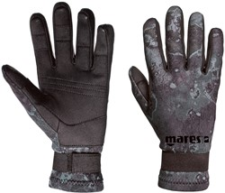 Mares Gloves CAMO BLACK AMARA 20