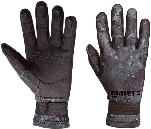 Mares Gloves Camo Black Amara 20 L