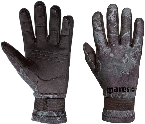 Mares Gloves CAMO BLACK AMARA 20