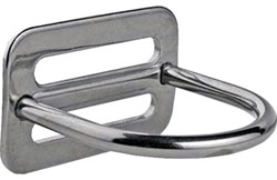 Rvs Heavy Duty D-Ring    90°