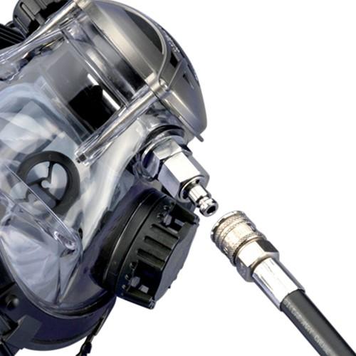 """Ocean Reef Extraflex Quick Connect Hose  Black 32"""""""
