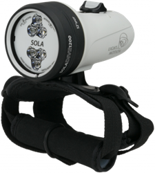 Light & Motion Sola Dive 1200 S White Eu duiklamp