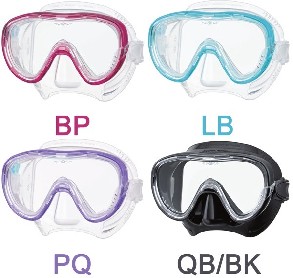 97cff364bfce0d Tusa M1002 Tina duikbril bij SubLub