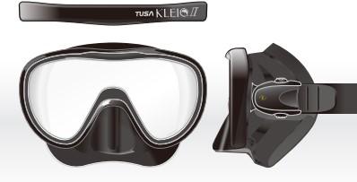 ec21557ef642b2 Tusa M111 Kleio Ii duikbril bij SubLub