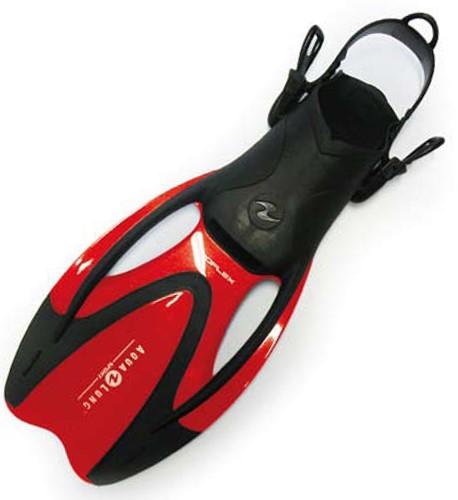 Aqualung Proflex II Junior Red L/XL (35-39) snorkelvinnen