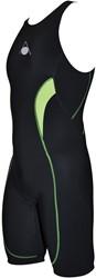 Aquasphere Energize Tri Suit Men Black / Light Green