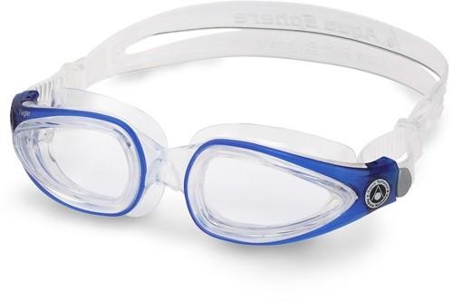 Aquasphere Zwembril Eagle Clear Lens Clear/Deep Blue