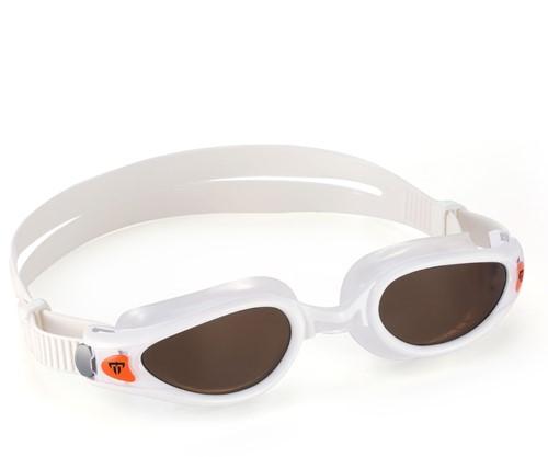 Aquasphere Kaiman EXO Polarized Lens White/Orange Zwembril
