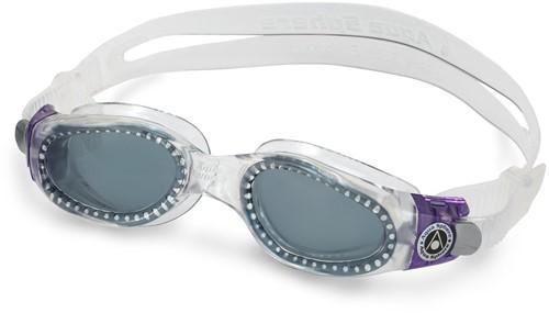 Aquasphere Kaiman Small Dark Lens Clear/Purple Zwembril