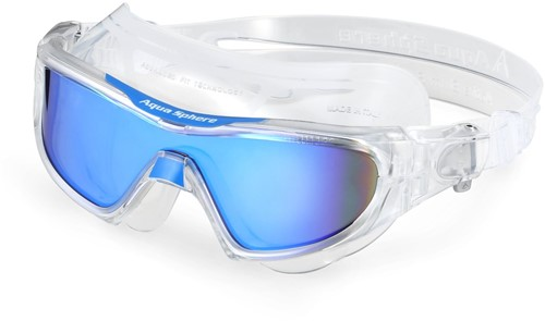 Aquasphere Vista Pro Multilayer Blue Mirrored Lens Clear/Clear Zwembril