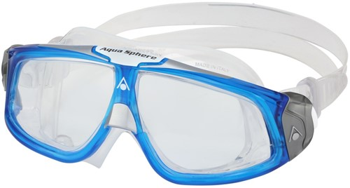 Aquasphere Seal 2.0 Clear Lens Light Blue/White Zwembril