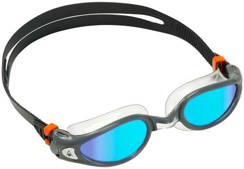 Aquasphere Kaiman EXO Blue Titanium Mirrored Lens Grey/Clear