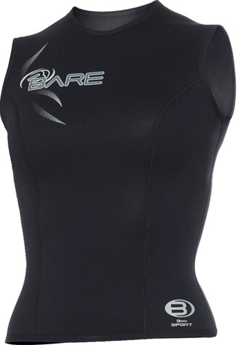 Bare 3mm Sport Vest Black Women 14