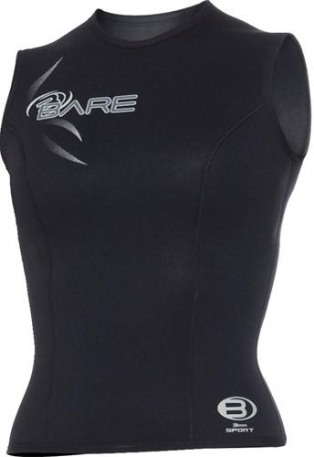 Bare 3mm Sport Vest Black Women 18