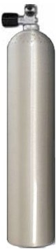 Aluminium Duikfles 5,7 Liter Enkel 200Bar