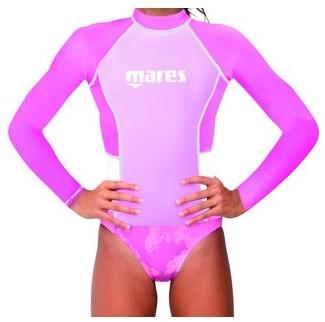Mares Rash Guard Junior L/S Girl M  Pk