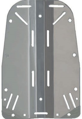 Apeks WTX Aluminium Backplate