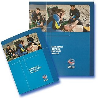 PADI Pack - Emergency Oxygen Provider (Korean)