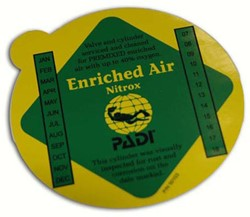 PADI Decal - Enriched Air Premix