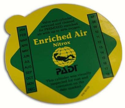 PADI Decal - Enriched Air Premix