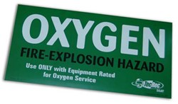 PADI Cylinder Decal - Oxygen